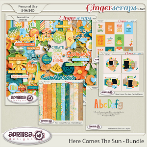 Here Comes The Sun - Bundle by Aprilisa Designs
