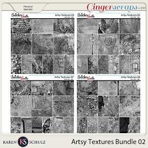 Artsy Textures Bundle 02 by Karen Schulz