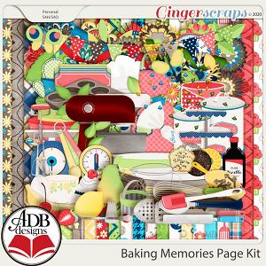 Baking Memories Page Kit by ADB Designs