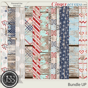 Bundle Up Worn Wood Papers
