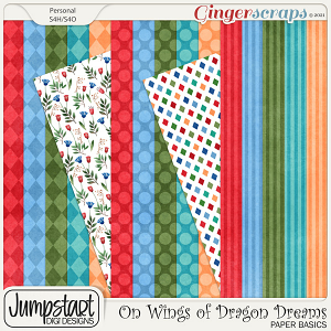 On Wings of Dragon Dreams {Paper Basics}