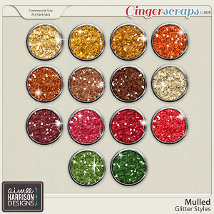 Mulled Glitters by Aimee Harrison