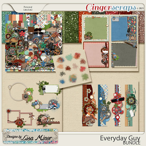Everyday Guy BUNDLE from Designs by Lisa Minor