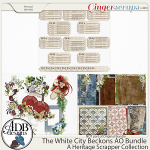 The White City Beckons Add-on Bundle by ADB Designs