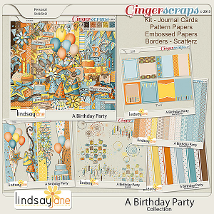 A Birthday Party Collection by Lindsay Jane