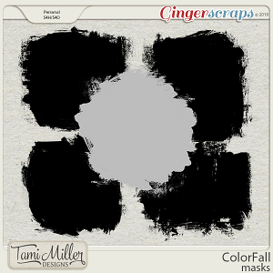 ColorFall Masks by Tami Miller Designs