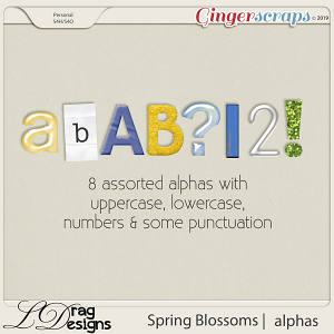 Spring Blossoms: Aphas by LDragDesigns