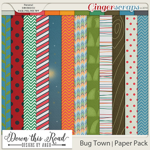 Bug Town   Paper Pack