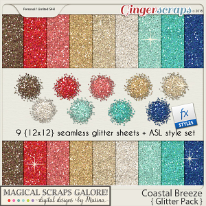 Coastal Breeze (glitter pack)
