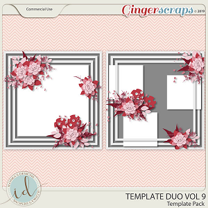 Template Duo Vol 9 by Ilonka's Designs