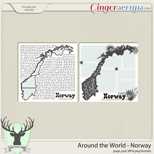 Around the World Countries: Norway by Dear Friends Designs