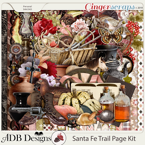 Santa Fe Trail Page Kit by ADB Designs