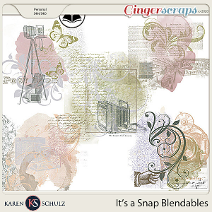 Its a Snap Blendables by Karen Schulz and ADB Designs