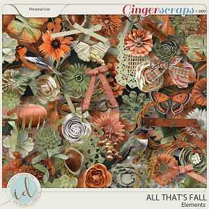 All That's Falll Elements by Ilonka's Designs