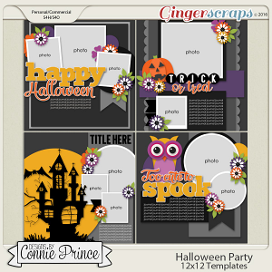 Halloween Party - 12x12 Temps (CU Ok)