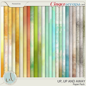 Up, Up And Away Paper Pack by Ilonka's Designs