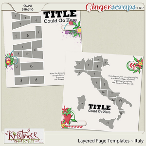 Layered Page Templates ~ Italy