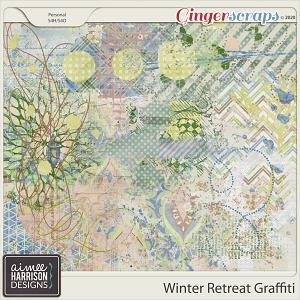 Winter Retreat Graffiti by Aimee Harrison