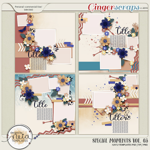 Special Moments- VOL.03 - Templates - by Neia Scraps