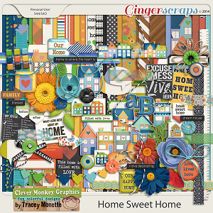 Home Sweet Home by Clever Monkey Graphics