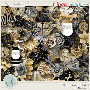 Merry & Bright Elements by Ilonka's Designs
