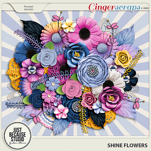 Shine Flowers by JB Studio