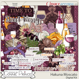 Hakuna Moscato - Kit by Connie Prince