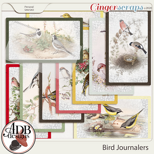 Heritage Resource - Bird Journal Cards by ADB Designs