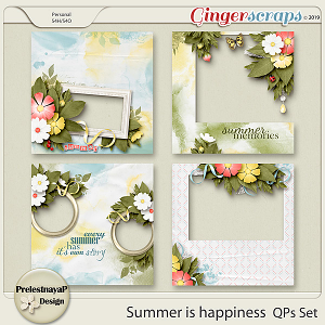 Summer is happiness QPs Set