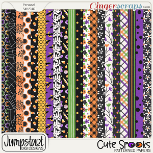 Cute Spooks {Patterned Papers}