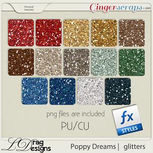 Poppy Dreams: Glitterstyles by LDragDesigns