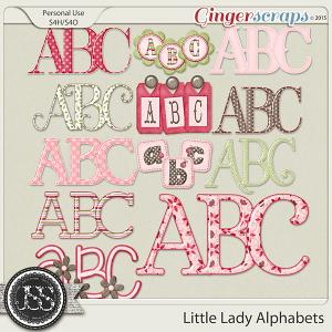 Little Lady Alphabets