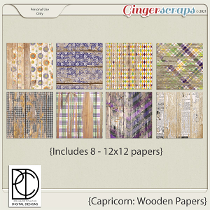 Capricorn: Wooden Papers