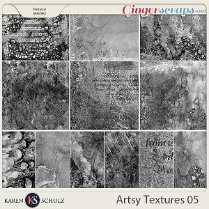 Artsy Textures 05 by Karen Schulz