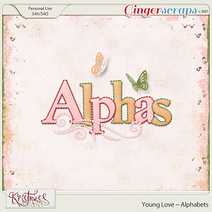 Young Love Alphabets