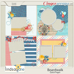 Boardwalk Quick Pages by Lindsay Jane