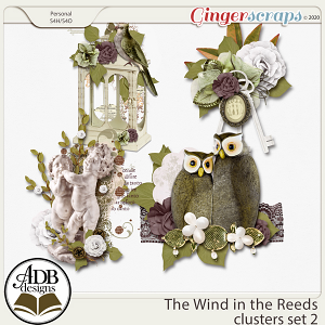 The Wind in the Reeds Clusters Set 02 by ADB Designs