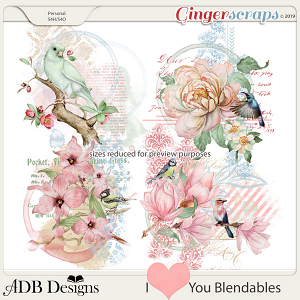 I Heart You Blendables by ADB Designs