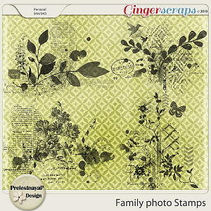 Family photo Stamps