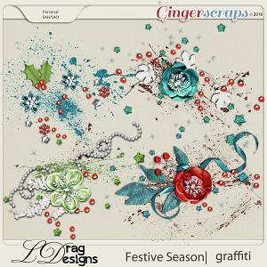 Festive Season: Graffiti by LDragDesigns