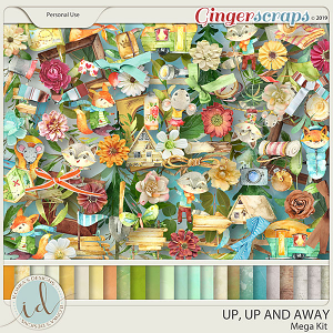 Up, Up And Away Mega Kit by Ilonka's Designs