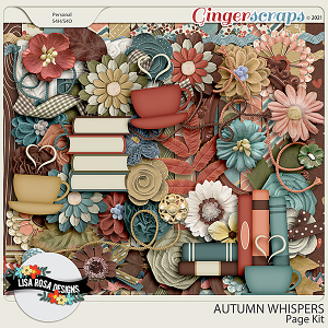 Warm and Cozy - Page Kit by Lisa Rosa Designs