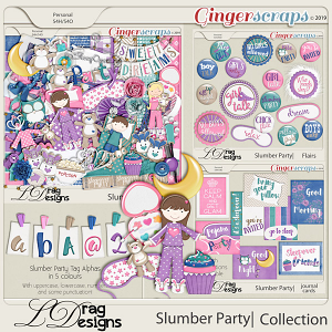 Slumber Party: The Collection by LDragDesigns