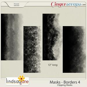 Masks Borders 4 by Lindsay Jane