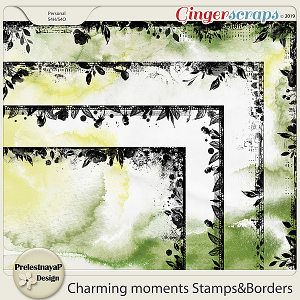Charming moments Stamps&Borders