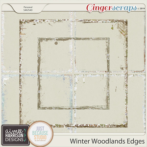 Winter Woodlands Messy Edges by Aimee Harrison and JB Studio