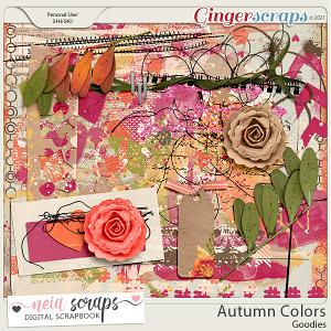 Autumn Colors - Goodies - by Neia Scraps