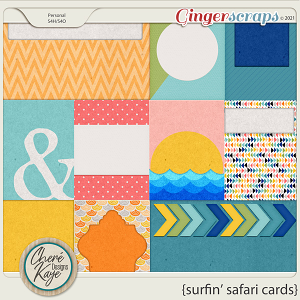 Surfin' Safari Cards by Chere Kaye Designs