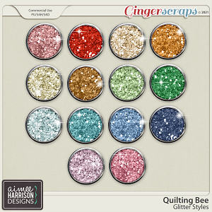 Quilting Bee Glitters by Aimee Harrison