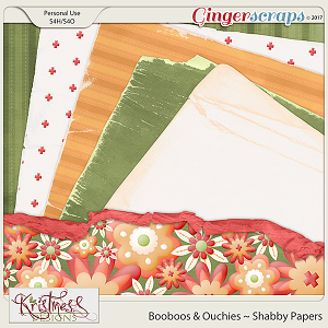 Booboos & Ouchies Shabby Papers
